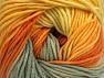 Fiber Content 55% Cotton, 45% Acrylic, Yellow, Orange, Khaki, Brand Ice Yarns, Gold, Yarn Thickness 3 Light  DK, Light, Worsted, fnt2-63393