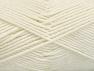 Fiber Content 52% Nylon, 48% Acrylic, Brand Ice Yarns, Ecru, Yarn Thickness 4 Medium  Worsted, Afghan, Aran, fnt2-63462