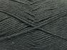 Fiber Content 52% Nylon, 48% Acrylic, Brand Ice Yarns, Dark Grey, Yarn Thickness 4 Medium  Worsted, Afghan, Aran, fnt2-63463