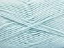 Fiber Content 52% Nylon, 48% Acrylic, Light Blue, Brand Ice Yarns, Yarn Thickness 4 Medium  Worsted, Afghan, Aran, fnt2-63467