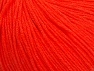 Fiber Content 60% Cotton, 40% Acrylic, Neon Orange, Brand Ice Yarns, Yarn Thickness 2 Fine  Sport, Baby, fnt2-63478