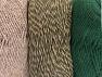 Fiber Content 90% Acrylic, 10% Polyester, Brand Ice Yarns, Dark Khaki, Camel, Yarn Thickness 3 Light  DK, Light, Worsted, fnt2-64019