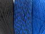 Fiber Content 90% Acrylic, 10% Polyester, Brand Ice Yarns, Blue, Black, Yarn Thickness 3 Light  DK, Light, Worsted, fnt2-64021