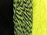 Fiber Content 90% Acrylic, 10% Polyester, Neon Yellow, Brand Ice Yarns, Black, Yarn Thickness 3 Light  DK, Light, Worsted, fnt2-64028
