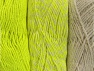 Fiber Content 90% Acrylic, 10% Polyester, Neon Yellow, Brand Ice Yarns, Ecru, Yarn Thickness 3 Light  DK, Light, Worsted, fnt2-64029
