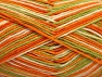 Fiber Content 100% Cotton, Orange, Brand Ice Yarns, Green, Cream, Yarn Thickness 3 Light  DK, Light, Worsted, fnt2-64037