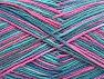 Fiber Content 100% Cotton, Turquoise, Teal, Pink, Brand Ice Yarns, Yarn Thickness 3 Light  DK, Light, Worsted, fnt2-64040