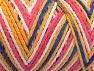Fiberinnehåll 50% Polyamid, 50% Akryl, White, Pink, Brand Ice Yarns, Gold, Blue, Yarn Thickness 4 Medium  Worsted, Afghan, Aran, fnt2-64481