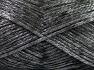 Fiber Content 70% Polyamide, 19% Wool, 11% Acrylic, Silver, Brand Ice Yarns, Black, Yarn Thickness 4 Medium  Worsted, Afghan, Aran, fnt2-64570