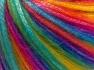 Fiberinnehåll 56% Polyester, 44% Akryl, Rainbow, Brand Ice Yarns, Yarn Thickness 4 Medium  Worsted, Afghan, Aran, fnt2-64626