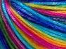 Fiber Content 56% Polyester, 44% Acrylic, Rainbow, Brand Ice Yarns, Yarn Thickness 4 Medium  Worsted, Afghan, Aran, fnt2-64627