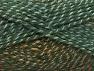 Fiber Content 50% Premium Acrylic, 50% Wool, Brand Ice Yarns, Green Shades, Brown Shades, Yarn Thickness 4 Medium  Worsted, Afghan, Aran, fnt2-65273