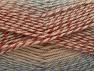 Fiber Content 50% Wool, 50% Premium Acrylic, Salmon Shades, Brand Ice Yarns, Copper, Camel, Blue, Yarn Thickness 4 Medium  Worsted, Afghan, Aran, fnt2-65275