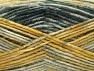 Fiber Content 50% Premium Acrylic, 50% Wool, Brand Ice Yarns, Grey Shades, Gold Shades, Yarn Thickness 4 Medium  Worsted, Afghan, Aran, fnt2-65282