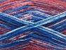 Fiber Content 50% Wool, 50% Premium Acrylic, Red, Brand Ice Yarns, Grey, Blue, Yarn Thickness 4 Medium  Worsted, Afghan, Aran, fnt2-65288