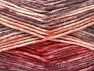 Fiber Content 50% Premium Acrylic, 50% Wool, Red, Maroon, Brand Ice Yarns, Cream, Burgundy, Yarn Thickness 4 Medium  Worsted, Afghan, Aran, fnt2-65294