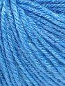 Fiber Content 40% Merino Wool, 40% Acrylic, 20% Polyamide, Light Blue, Brand Ice Yarns, Yarn Thickness 2 Fine  Sport, Baby, fnt2-65581
