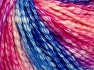 Fiber Content 77% Cotton, 23% Acrylic, Pink Shades, Brand Ice Yarns, Blue Shades, Yarn Thickness 4 Medium  Worsted, Afghan, Aran, fnt2-65711