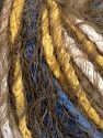 Fiber Content 60% Acrylic, 40% Polyamide, Yellow, White, Khaki, Brand Ice Yarns, Blue, Yarn Thickness 5 Bulky  Chunky, Craft, Rug, fnt2-65890