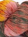 Please note that this is a hand-dyed yarn. Colors in different lots may vary because of the charateristics of the yarn. Also see the package photos for the colorway in full; as skein photos may not show all colors. Contenido de fibra 75% Super lavado de lana, 25% Poliamida, Yellow, Salmon Shades, Brand Ice Yarns, Grey Shades, Yarn Thickness 1 SuperFine  Sock, Fingering, Baby, fnt2-66030