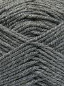 Fiber Content 60% Merino Wool, 40% Acrylic, Brand Ice Yarns, Grey, Yarn Thickness 3 Light  DK, Light, Worsted, fnt2-66079