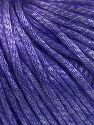 Fiber Content 67% Tencel, 33% Polyamide, Purple, Brand Ice Yarns, Yarn Thickness 4 Medium  Worsted, Afghan, Aran, fnt2-66200