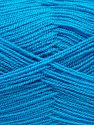 Very thin yarn. It is spinned as two threads. So you will knit as two threads. Yardage information is for only one strand. Fiber Content 100% Acrylic, Turquoise, Brand Ice Yarns, Yarn Thickness 1 SuperFine  Sock, Fingering, Baby, fnt2-66555