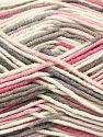 Fiber Content 50% Acrylic, 50% Cotton, Pink, Brand Ice Yarns, Cream, Camel, Yarn Thickness 2 Fine  Sport, Baby, fnt2-66577