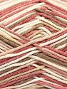 Fiber Content 50% Cotton, 50% Acrylic, Pink Shades, Brand Ice Yarns, Cream, Beige, Yarn Thickness 2 Fine  Sport, Baby, fnt2-66578
