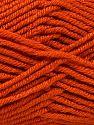 Fiber Content 100% Antipilling Acrylic, Orange, Brand Ice Yarns, Yarn Thickness 3 Light  DK, Light, Worsted, fnt2-66724