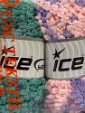 Fiber Content 50% Acrylic, 50% Polyamide, Mixed Lot, Brand Ice Yarns, Yarn Thickness 6 SuperBulky  Bulky, Roving, fnt2-66784