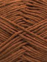Fiber Content 100% Cotton, Light Brown, Brand Ice Yarns, Yarn Thickness 4 Medium  Worsted, Afghan, Aran, fnt2-66811