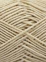 Fiber Content 50% Acrylic, 50% Bamboo, Light Beige, Brand Ice Yarns, Yarn Thickness 2 Fine  Sport, Baby, fnt2-66889