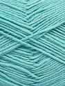 Contenido de fibra 50% Algodón, 50% Acrílico, Light Turquoise, Brand Ice Yarns, Yarn Thickness 2 Fine  Sport, Baby, fnt2-66896