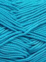 Fiber Content 100% Mercerised Giza Cotton, Turquoise, Brand Ice Yarns, Yarn Thickness 2 Fine  Sport, Baby, fnt2-66948
