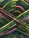 Fiber Content 55% Acrylic, 45% Polyamide, White, Pink, Brand Ice Yarns, Dark Green, Blue, Yarn Thickness 4 Medium  Worsted, Afghan, Aran, fnt2-66956