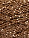 Fiber Content 76% Acrylic, 14% Cotton, 10% Bamboo, Light Brown, Brand Ice Yarns, Cream, Yarn Thickness 2 Fine  Sport, Baby, fnt2-67079