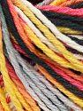 Fiber Content 100% Acrylic, Yellow, Salmon, Light Grey, Brand Ice Yarns, Black, Yarn Thickness 2 Fine  Sport, Baby, fnt2-67142