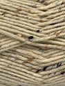 Fiber Content 75% Premium Acrylic, 5% Viscose, 20% Wool, Brand Ice Yarns, Dark Cream, Yarn Thickness 4 Medium  Worsted, Afghan, Aran, fnt2-67162