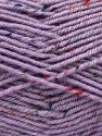 Fiber Content 75% Premium Acrylic, 5% Viscose, 20% Wool, Lilac, Brand Ice Yarns, Yarn Thickness 4 Medium  Worsted, Afghan, Aran, fnt2-67171