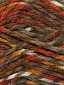 Fiber Content 75% Premium Acrylic, 25% Wool, White, Brand Ice Yarns, Copper, Brown Shades, Yarn Thickness 5 Bulky  Chunky, Craft, Rug, fnt2-67178