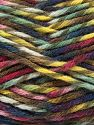 Fiber Content 75% Premium Acrylic, 25% Wool, Yellow, Navy, Brand Ice Yarns, Green, Burgundy, Brown, Yarn Thickness 5 Bulky  Chunky, Craft, Rug, fnt2-67190