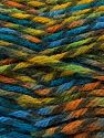 Fiber Content 75% Premium Acrylic, 25% Wool, Turquoise, Orange, Khaki, Brand Ice Yarns, Green, Gold, Yarn Thickness 5 Bulky  Chunky, Craft, Rug, fnt2-67191