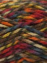 Fiber Content 75% Premium Acrylic, 25% Wool, Turquoise, Red, Orange, Khaki, Brand Ice Yarns, Brown, Yarn Thickness 5 Bulky  Chunky, Craft, Rug, fnt2-67192