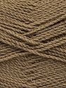 Fiber Content 100% Premium Acrylic, Light Brown, Brand Ice Yarns, Yarn Thickness 2 Fine  Sport, Baby, fnt2-67203