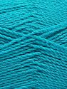 Contenido de fibra 100% Acrílico Premium, Turquoise, Brand Ice Yarns, Yarn Thickness 2 Fine  Sport, Baby, fnt2-67215