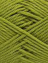 Fiber Content 100% Cotton, Light Green, Brand Ice Yarns, Yarn Thickness 4 Medium  Worsted, Afghan, Aran, fnt2-67339