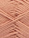 Fiber Content 100% Cotton, Light Pink, Brand Ice Yarns, Yarn Thickness 4 Medium  Worsted, Afghan, Aran, fnt2-67342