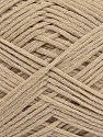 Fiber Content 67% Cotton, 33% Polyamide, Brand Ice Yarns, Beige, Yarn Thickness 2 Fine  Sport, Baby, fnt2-67355