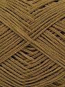 Fiber Content 67% Cotton, 33% Polyamide, Khaki, Brand Ice Yarns, Yarn Thickness 2 Fine  Sport, Baby, fnt2-67362